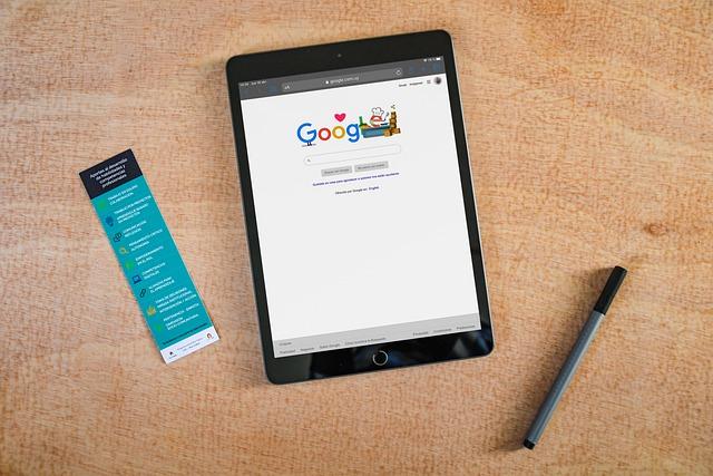 Google na Ipadu