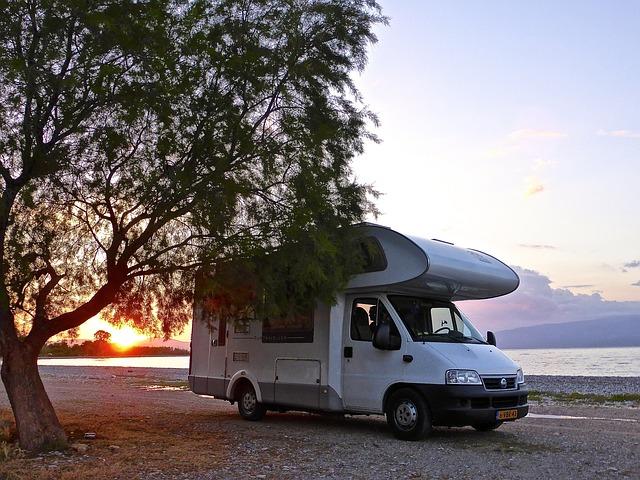 karavan u vody